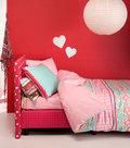 Damai-Delfina-Dora-Pink-140x200-220-dekbedovertrek