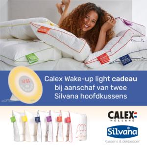 Silvana Calex Wake up light actie